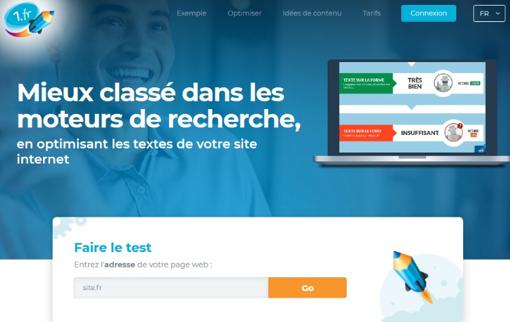 Capture d'écran de 1.fr