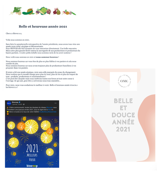 carte de voeux 2021 - douceur