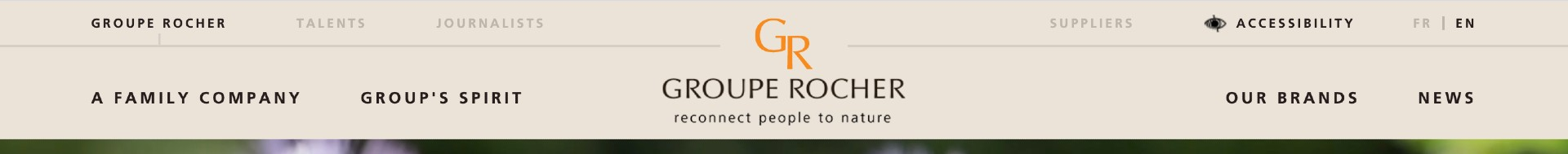 navigation entrées profils - exemple groupe rocher
