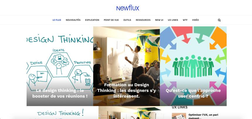 Capture d'écran de Newflux
