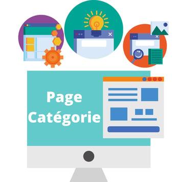 Page catégorie site e-commerce