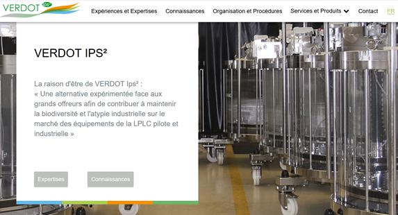 Site de VERDOT Ips
